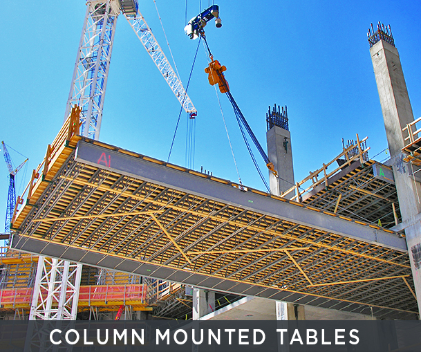 Column Mounted Tables