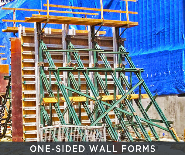 One-Sided Wallforms