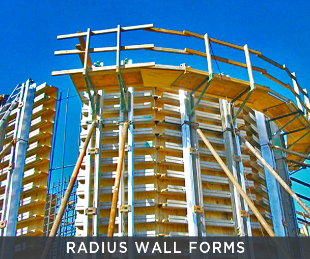 Radius Wallforms